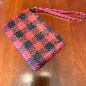 NWT Coach wristlet/change purse
